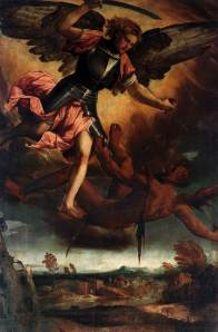 Angel-ArchAngel Michael defender of God against satan