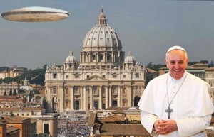 Pope and UFO