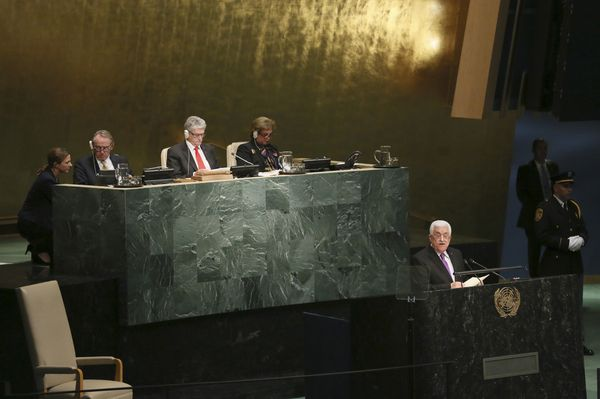Abbas says Palestinians no longer bound by pacts with Israel photo