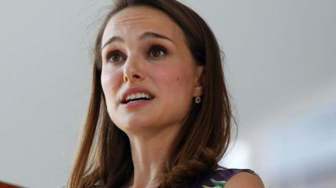 Natalie Portman says Jews focus too much on the Holocaust. May 27, 2015. Credit: Reuters