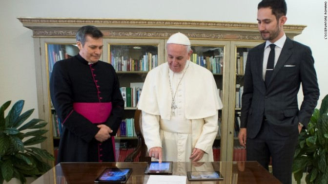 Pope Francis CEO gains 1 million Instagram followers in under 12 hours